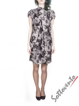Платье серо-коричневое  Blugirl Folies 3942. Image 2