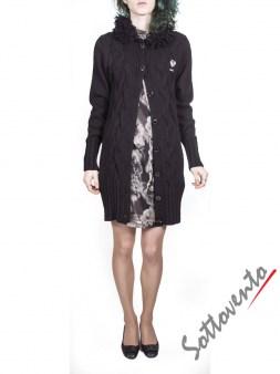 Платье серо-коричневое  Blugirl Folies 3942. Image 5