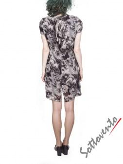 Платье серо-коричневое  Blugirl Folies 3942. Image 3