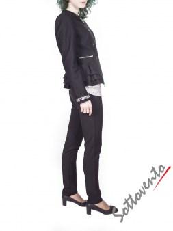 Пиджак чёрный  Blugirl Folies 0610. Image 3