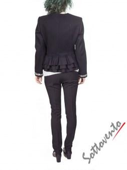 Пиджак чёрный  Blugirl Folies 0610. Image 4