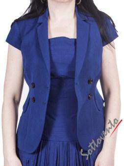 Пиджак тёмно-синий I'M Isola Marras 330135. Image 1