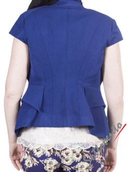 Пиджак тёмно-синий I'M Isola Marras 330135. Image 2