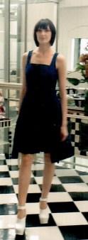 Платье синее I'M Isola Marras 321328. Image 0
