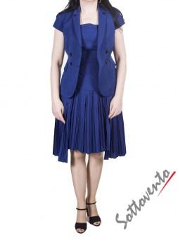 Пиджак тёмно-синий I'M Isola Marras 330135. Image 4