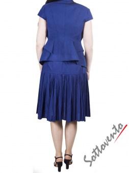 Пиджак тёмно-синий I'M Isola Marras 330135. Image 3