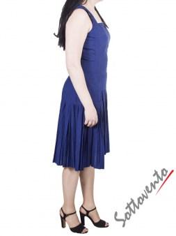 Платье синее I'M Isola Marras 321328. Image 3