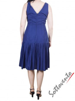 Платье синее I'M Isola Marras 321328. Image 2