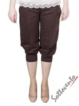Брюки коричневые  I'M Isola Marras 301273. Image 0