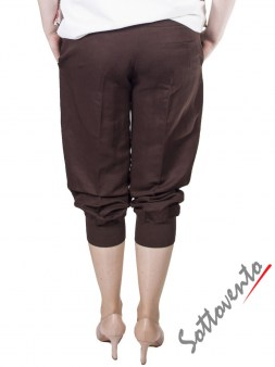 Брюки коричневые  I'M Isola Marras 301273. Image 1