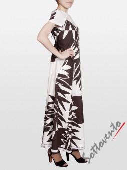 Платье коричневое I'M Isola Marras 321351. Image 2