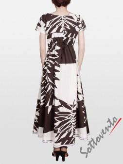 Платье коричневое I'M Isola Marras 321351. Image 1