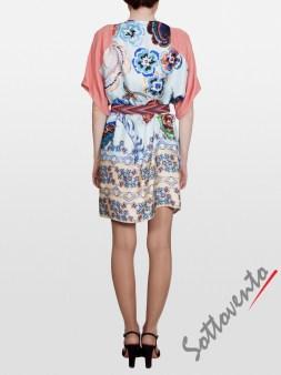 Платье розово-голубое  I'M Isola Marras 321346. Image 5