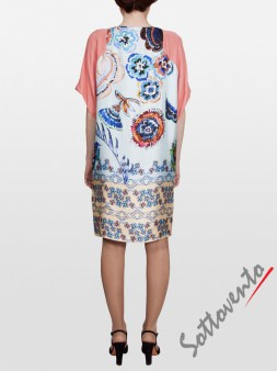 Платье розово-голубое  I'M Isola Marras 321346. Image 1