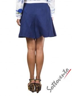 Юбка-шорты синяя  I'M Isola Marras 320153. Image 2