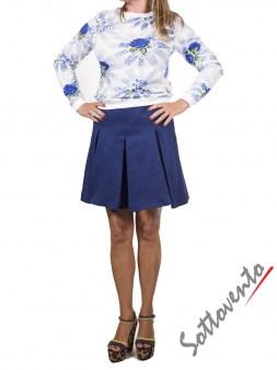 Юбка-шорты синяя  I'M Isola Marras 320153. Image 3