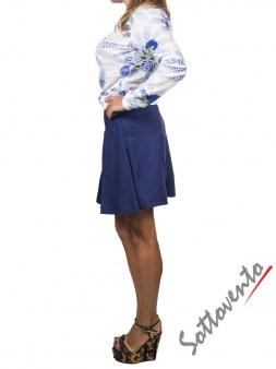 Юбка-шорты синяя  I'M Isola Marras 320153. Image 4