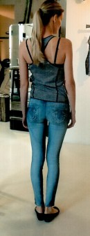 Джинсы  синие True Religion W14SD10C81. Image 1