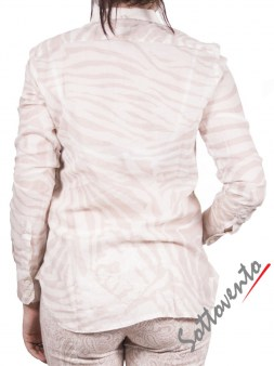 Рубашка бежево-белая  Coast Weber 55828. Image 2