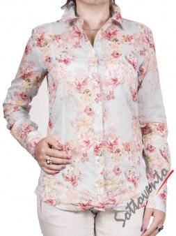 Рубашка голубая с розовым  Coast Weber 55820-09634. Image 0