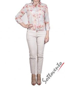 Рубашка голубая с розовым  Coast Weber 55820-09634. Image 2