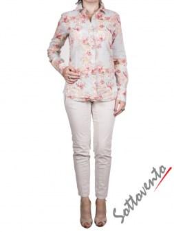 Рубашка голубая с розовым  Coast Weber 55820-09634. Image 5