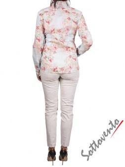 Рубашка голубая с розовым  Coast Weber 55820-09634. Image 6