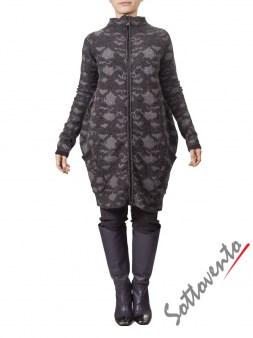 Пальто  серое MALLONI 20227. Image 0