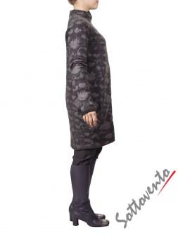 Пальто  серое MALLONI 20227. Image 2