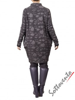 Пальто  серое MALLONI 20227. Image 1