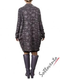 Платье  серое MALLONI 40224. Image 5