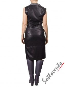 Платье серо-чёрное MALLONI 20232. Image 1