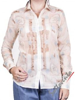 Рубашка бело-голубая Coast Weber 55820-09648. Image 1