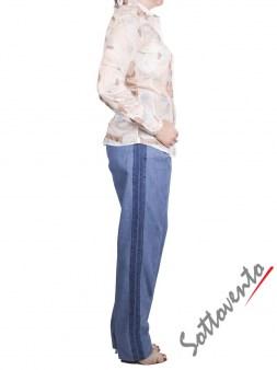 Рубашка бело-голубая Coast Weber 55820-09648. Image 4