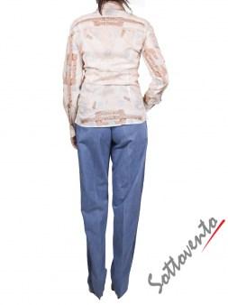 Рубашка бело-голубая Coast Weber 55820-09648. Image 5