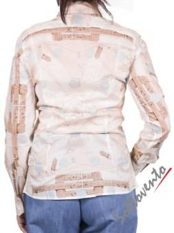 Рубашка бело-голубая Coast Weber 55820-09648. Image 2