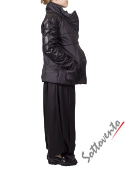 Куртка  чёрная MALLONI 50102. Image 2