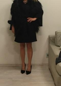 Пальто чёрное Ki6? Who are you? Image 1