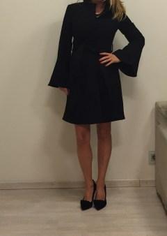 Пальто чёрное Ki6? Who are you? Image 0