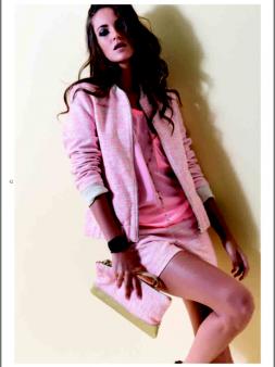 Пиджак розовый Deha Image 1