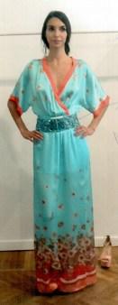 Платье шелковое бирюзовое KI6? Whо are you?AB62 Image 1
