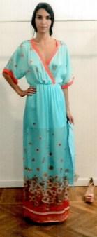 Платье шелковое бирюзовое KI6? Whо are you?AB62 Image 0