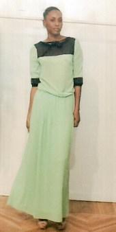 Платье шелковое салатовое KI6? Whо are you?AB68 Image 0