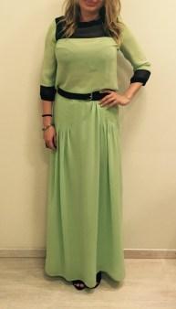 Платье шелковое салатовое KI6? Whо are you?AB68 Image 1