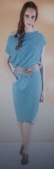 Платье голубое Malloni 20288 Image 0
