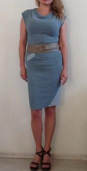 Платье голубое Malloni 20288 Image 2