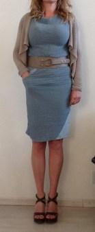 Платье голубое Malloni 20288 Image 3