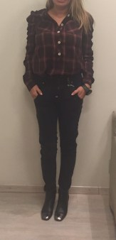 Брюки-джинсы  серые HIGH 701765 Image 2
