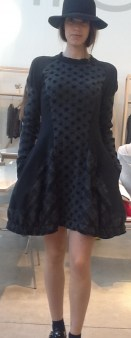 Платье серое в горох HIGH 721345 Image 0