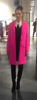 Пальто розовое MSGM 133 Image 1